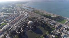 4K Drone Palace Of Fine Arts San Fransisco Stock Footage