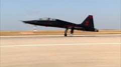 Northrop T-38 Talon Go Around Stock Footage