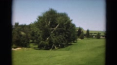 1949: outdoor greenery garden beautiful lush beauty MINNESOTA Stock Footage