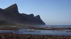 Coast near Cape Point (Sout Africa, 4K) Stock Footage