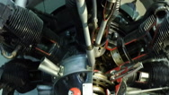 Aircraft engine Stock Footage