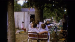 1968: the 25th annual family reunion taking place this july DILLER, NEBRASKA Stock Footage