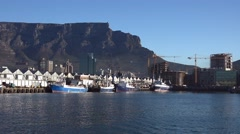 Cape Town (South Africa, 4K UHD footage) Stock Footage