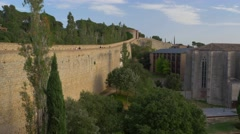 Nice view of Girona, Spain Stock Footage
