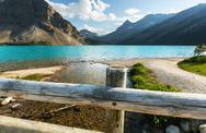 Bow lake Stock Photos