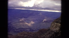 1967: panoramic mountaintop scan from a summit ARIZONA Stock Footage