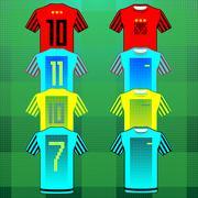 Team Sportswear Uniform Stock Illustration