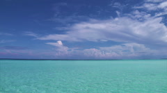 Turquoise Ocean Stock Footage