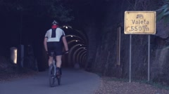 Valeta tunnel in Portoroz, Slovenia Stock Footage