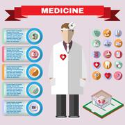 Health-care Flyer Illustration Piirros
