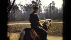 1967: horse jump rider fast professional slow pace ARIZONA Stock Footage