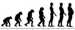 Evolution man Stock Illustration
