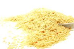 Rice brown organic grain nutrition Stock Photos