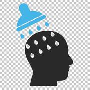 Brain Washing Vector Icon Stock Illustration