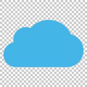 Cloud Vector Icon Stock Illustration