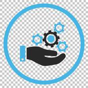 Mechanics Service Vector Icon Stock Illustration