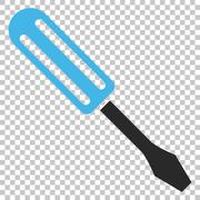 Screwdriver Vector Icon Stock Illustration