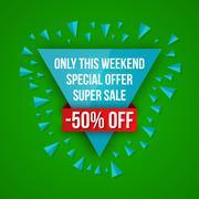 Sale vector, special offer Stock Illustration