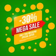 Sale vector, special offer Stock Illustration