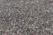 Black volcanic sand Stock Photos
