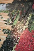 High angle view of incomplete jigsaw puzzle on wooden table Stock Photos