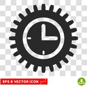 Time Options Eps Vector Icon Stock Illustration