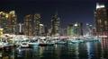 4K Dubai Marina night time lapse, United Arab Emirates 4k or 4k+ Resolution