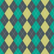 Seamless Argyle Pattern Stock Illustration