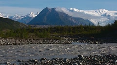 Wrangell-St. Elias National Park and Preserve, Alaska. Stock Footage