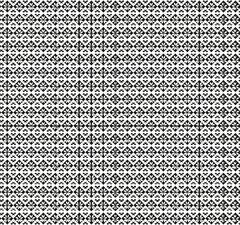 Ethnic Floral Geometric Pattern Stock Illustration