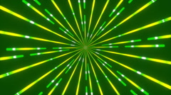 Green abstract background, moving lines, loop Stock Footage