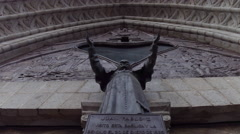 Catholic Church Pope Juan pablo II Stock Footage