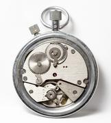 Mechanical stopwatch Stock Photos