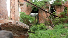 Picturesque ruins of century aristocratic estates in Russia 1 Stock Footage