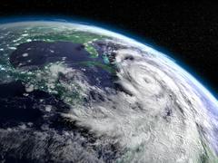 Hurricane Matthew from space Piirros