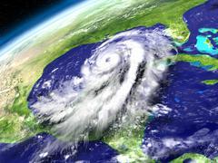 Orbit view of Hurricane Matthew Piirros