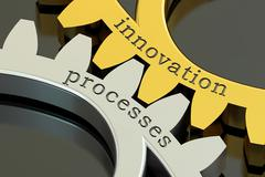 Innovation Processes concept, 3D rendering Stock Illustration