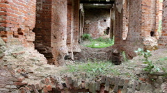 Picturesque ruins of century aristocratic estates in Russia 5 Stock Footage