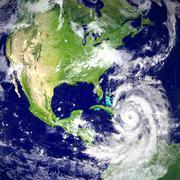 Hurricane Matthew Stock Illustration