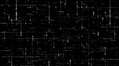 Electricity Vj Loops Black And White HD Motion Background Stock Footage