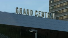 BIRMINGHAM, ENGLAND - Grand Central, New Street Station Stock Footage