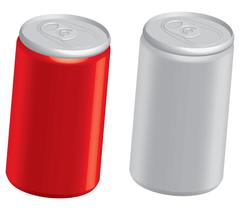 Cola cans Stock Illustration