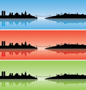 Colourful Istanbul Stock Illustration