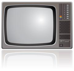 Old Television Piirros