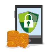 Security data and cyber system design Stock Illustration