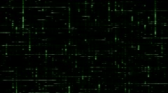 Electricity Vj Loops Green HD Motion Background Stock Footage