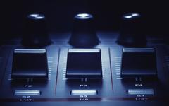 Midi Controller Details Stock Photos