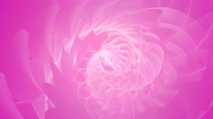 Abstract polygon spiral motion background Stock Footage