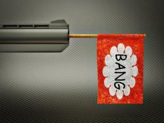 Bang Stock Illustration