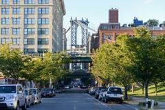 Manhattan Bridge View Stock Photos